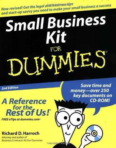 Richard D. Harroch Small Business Kit For Dummies [with Cdrom] 0002 Edition;revised