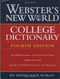 Michael E. Agnes Webster's New World College Dictionary [with Cdrom 0004 Edition;