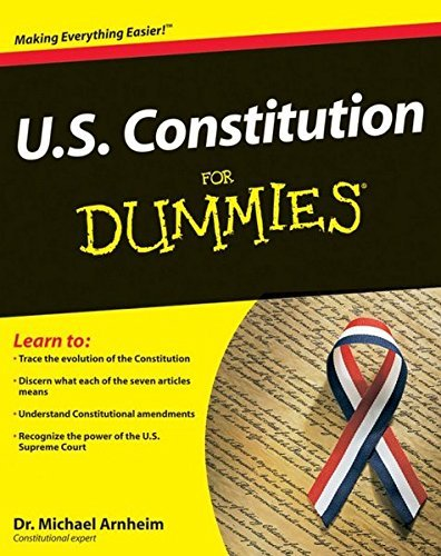 Michael Arnheim U.S. Constitution For Dummies
