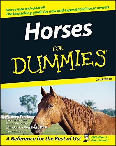 Audrey Pavia Horses For Dummies 0002 Edition;