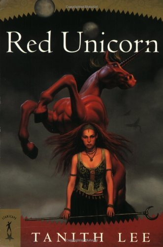 Tanith Lee Red Unicorn (starscape)