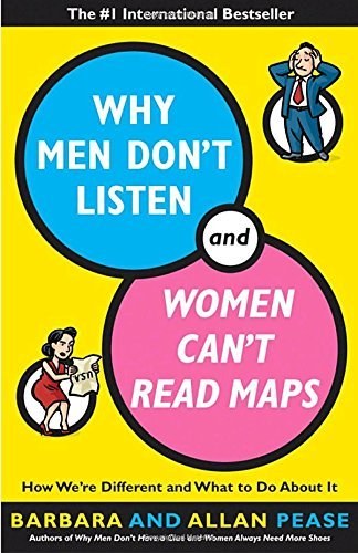 Allan Pease Why Men Don't Listen And Women Can't Read Maps How We're Different And What To Do About It