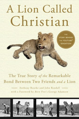 Anthony Bourke A Lion Called Christian The True Story Of The Remarkable Bond Between Two