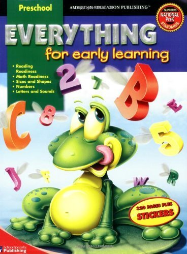 American Education Publishing Everything For Early Learning [with Stickers]