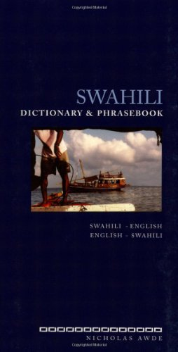 Nicholas Awde Swahili Dictionary And Phrasebook Swahili English English Swahili