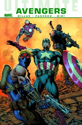 Mark Millar Ultimate Comics Avengers Next Generation Premiere Edition