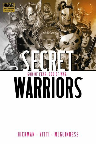 Jonathan Hickman Secret Warriors Volume 2 God Of Fear God Of War Premiere Hc