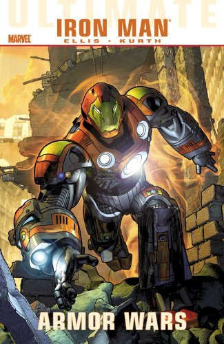 Warren Ellis Ultimate Comics Iron Man Armor Wars