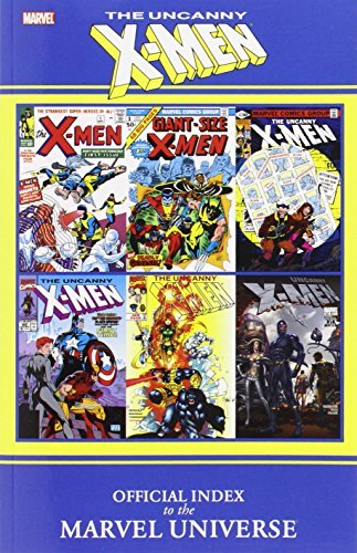 Al Sjoerdsma Uncanny X Men The Official Index To The Marvel Universe
