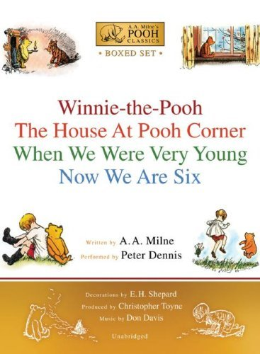 A. A. Milne Winnie The Pooh Boxed Set Winnie The Pooh; The House At Pooh Corner; When W