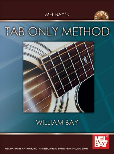 William Bay Modern Tab Only Method Book CD Set