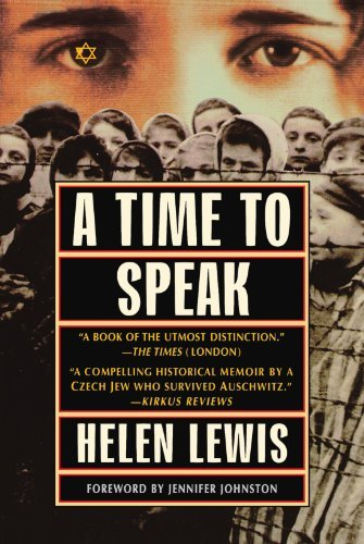 Helen Lewis A Time To Speak 0002 Edition;