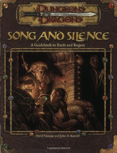 David Noonan Song & Silence Guidebook To Bards & Rogues