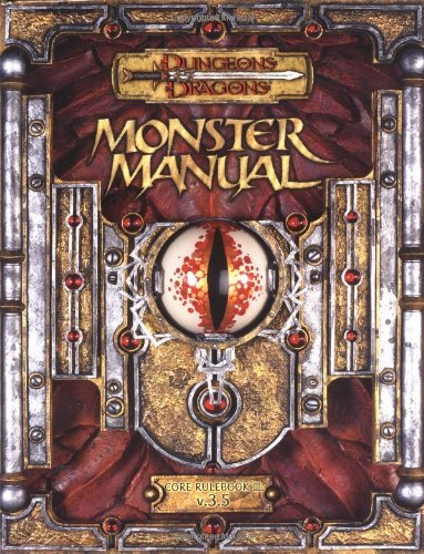 Monte Cook Monster Manual Core Rulebook Iii Dungeons & Dragons D20 3.5 Fantasy Role