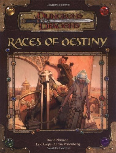 David Noonan Races Of Destiny Dungeon & Dragons D20 3.5 Fantas