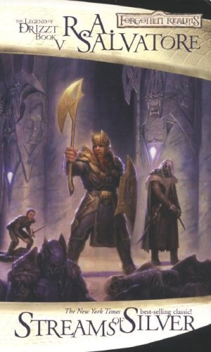 R. A. Salvatore Streams Of Silver The Legend Of Drizzt Book V