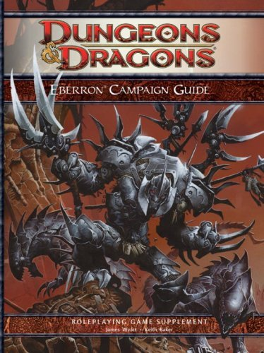 James Wyatt Eberron Campaign Guide Roleplaying Game Supplement