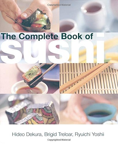 Hideo Dekura The Complete Book Of Sushi 0002 Edition;