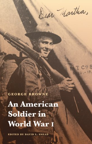 George Browne An American Soldier In World War I