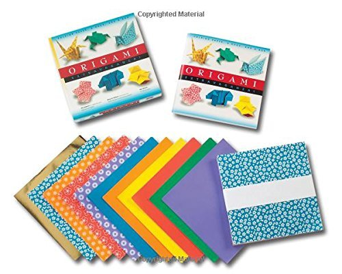 Tuttle Publishing Origami Extravaganza! Folding Paper A Book And A [origami Kit With Book 162 Papers 45 Projects] Book And Kit