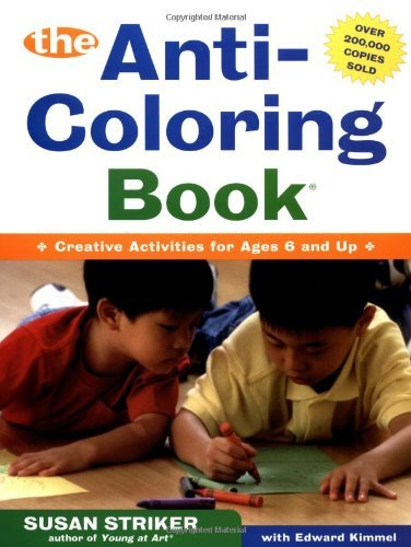 Susan Striker The Anti Coloring Book