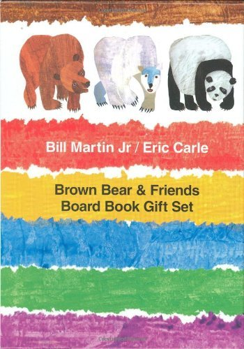 Bill Martin Brown Bear & Friends Board Book Gift Set