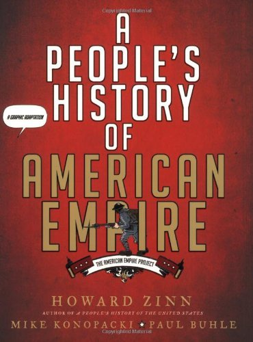 Howard Zinn A People's History Of American Empire A Graphic Adaptation S&s Hdcvr