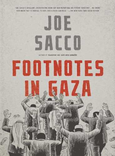 Joe Sacco Footnotes In Gaza