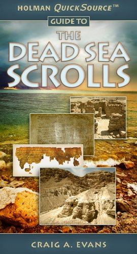 Craig Evans Holman Quicksource Guide To The Dead Sea Scrolls
