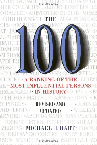 Michael H. Hart 100 The A Ranking Of The Most Influential Persons In Hist Rev