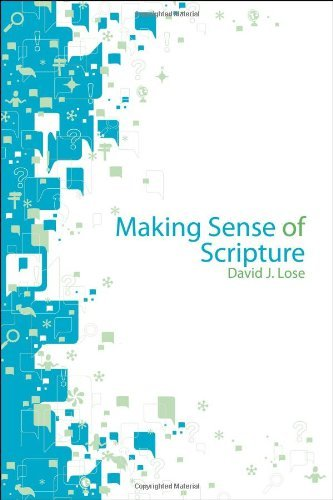 David J. Lose Making Sense Of Scripture Big Questions About The Book Of Faith
