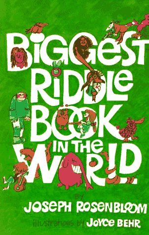 Joseph Rosenbloom Biggest Riddle Book In The World Revised