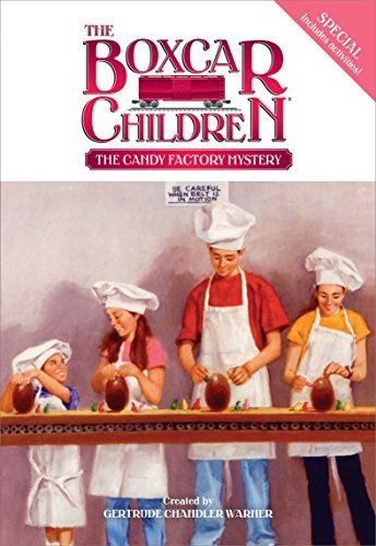 Gertrude Chandler Warner The Candy Factory Mystery