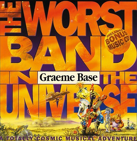 Graeme Base Worst Band In The Universe