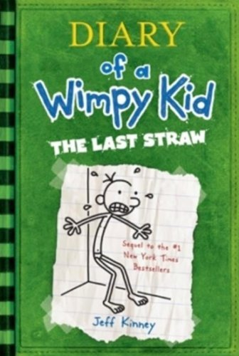 Jeff Kinney Diary Of A Wimpy Kid # 3 The Last Straw
