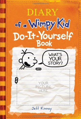 Jeff Kinney Diary Of A Wimpy Kid Do It Yourself Book
