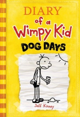 Jeff Kinney Diary Of A Wimpy Kid # 4 Dog Days