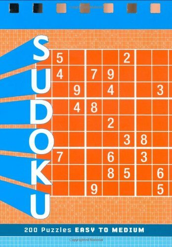 Zachary Pitkow Sudoku Easy To Medium