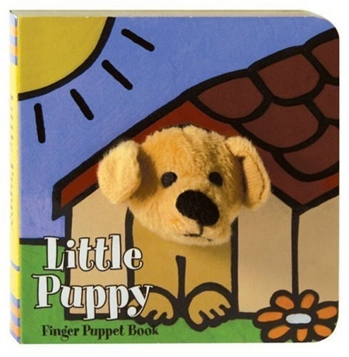 Chronicle Books Little Puppy Finger Puppet Book