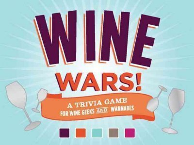 Joyce Lock Wine Wars! Board Game A Trivia Game For Wine Geeks And Wannabes