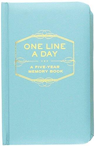 Chronicle Books One Line A Day A Five Year Memory Book