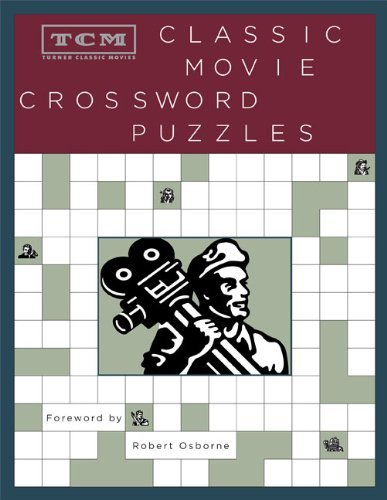 Turner Classic Movies Tcm Classic Movie Crossword Puzzles
