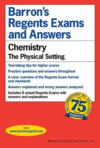 Albert Tarendash M. S. Regents Exams And Answers Chemistry