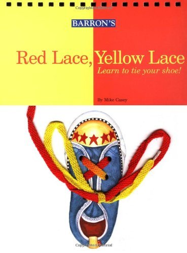 Mike Casey Red Lace Yellow Lace Learn To Tie Your Shoe!