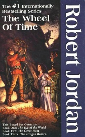 Robert Jordan The Wheel Of Time Boxed Set I Books 1 3 The Eye Of The World The Great Hunt The Dragon