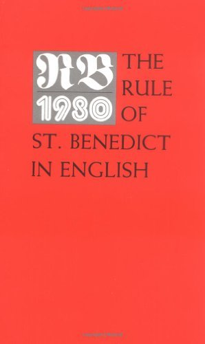 Timothy Fry Rb 1980 The Rule Of St. Benedict