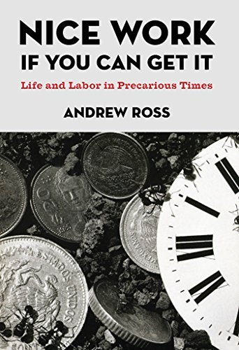 Andrew Ross Nice Work If You Can Get It Life And Labor In Precarious Times