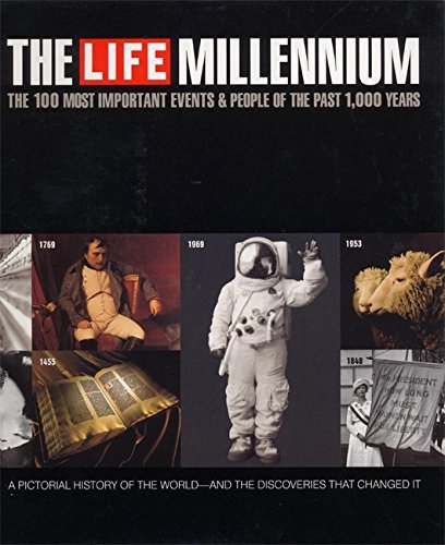 Life Magazine Life Millennium 100 Most Important Events & People Of The Pa