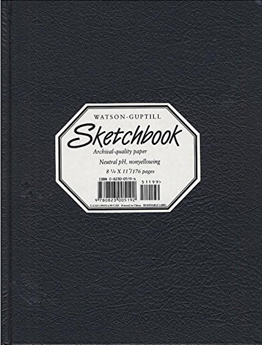 Watson Guptill Large Sketchbook (kivar Black)