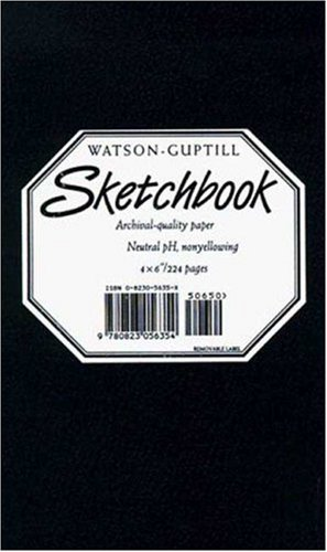 Watson Guptill Small Sketchbook (kivar Black) Black